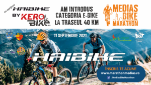 NOU! Categoria e-bike la traseul de 40 km